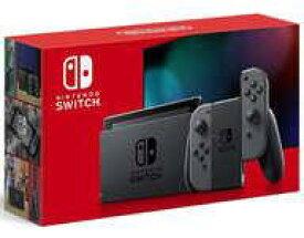 【中古】ニンテンドースイッチハード Nintendo Switch本体/Joy-Con(L)/(R) グレー [2019年8月モデル](状態:セーフティガイド欠品)