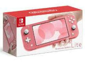 【中古】ニンテンドースイッチハード Nintendo Switch Lite本体 コーラル(状態:セーフティガイド欠品)