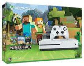 【中古】Xbox Oneハード XboxOneS本体 500GB (Minecraft同梱版)(状態:電源コード欠品)
