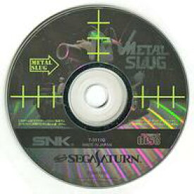 【中古】セガサターンソフト メタルスラッグ[単品](状態:ディスクのみ、ディスク貫通傷)