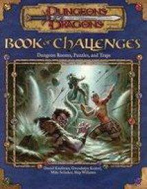【中古】ボードゲーム D&D ブック・オブ・チャレンジ・ダンジョン・ルームズ パズル&トラップ (Dungeons & Dragons: Book of Challenges: Dungeon Rooms . Puzzles . and Traps)