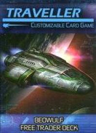 【中古】ボードゲーム [日本語訳無し] トラベラー カスタマイザブルカードゲーム: ベーオウルフ フリートレーダーデッキ (Traveller Customizable Card Game: Beowulf Free Trader Deck)