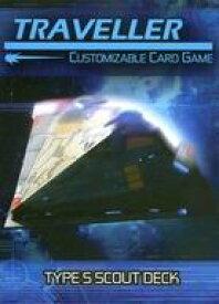 【中古】ボードゲーム [日本語訳無し] トラベラー カスタマイザブルカードゲーム: タイプSスカウトデッキ (Traveller Customizable Card Game: Type S Scout Deck)