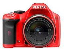 【中古】カメラ PENTAX AF一眼レフデジタルカメラ K-x 1240万画素 (K-xレンズキット/レッド) [K-XLK-R] (状態:本体・レンズのみ/本体状態難)