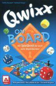 【中古】ボードゲーム [日本語訳無し] クウィックス・オン・ボード 多言語版 (Qwixx On Board)