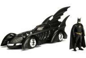 【新品】ミニカー 1/24 バットモービル バットマン フィギュア付 「バットマン フォーエヴァー」 [JADA98036]