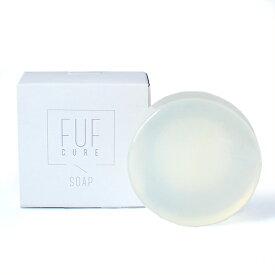 フフキュアやさしい石鹸 デリケートゾーン 石鹸 石けん ソープ 固形 日本製 せっけん 女性用 ケア