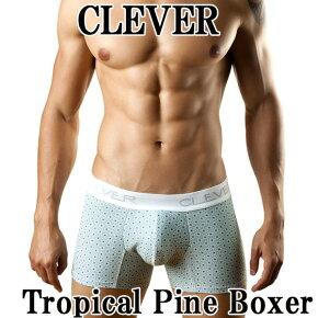 【ポイント10倍】【CLEVER】メンズボクサー『TropicalPineBoxer』cl-2067【ボクサー】【メンズインナー】【テイストセクシー】【送料無料】☆ゆうパケット2枚迄OK