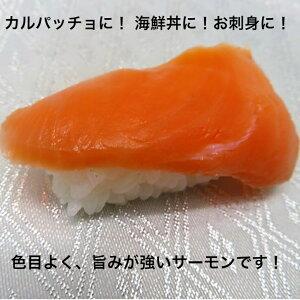 寿司ネタ サーモントラウトスライス6g×20枚 すしねた 業務用 生食用 刺身用 鮭 しゃけ 海鮮丼 カルパッチョ 手巻き寿司