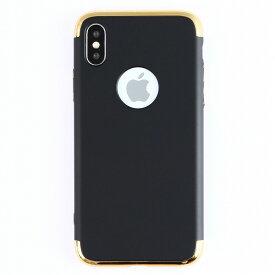 iPhone X ケース メタリックカバー ケース ガラスフィルム付属 iPhoneX ケース 耐衝撃 ハード カバー アイフォンX ケース スマホケース