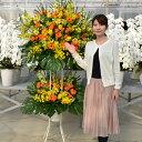 スタンド花 開店祝い 花 スタンド花(2段) 花色は選べる5色 20,000円(税別) 高さ180cm位 あす楽 東京都、神奈川県(一部…