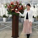 【ポイント10倍】スタンド花 開店祝い 花 スタンド花(木製) 花色は選べる5色 20,000円(税別) 高さ180cm位 あす楽 東京…