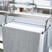 伸縮ランドリーラック洗濯室内物干し室内干し部屋干し洗濯物干し物干しバスタオル省スペースaisenアイセン