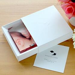PHOTOCUBEOriginalフォトキューブオリジナルギフト化粧箱の画像