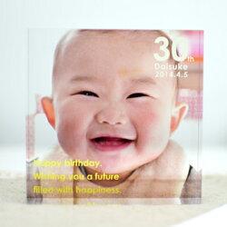 PHOTOCUBEOriginalフォトキューブオリジナル赤ちゃんベイビー内祝い