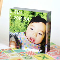 PHOTOCUBEOriginalフォトキューブオリジナル誕生日七五三出産祝い孫父の日母の日