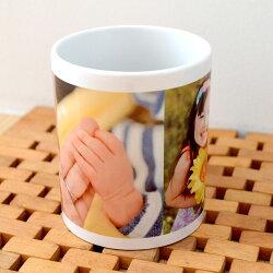 写真入りプレゼント,父の日ギフト,オーダーメイドマグカップ,写真入りマグカップ
