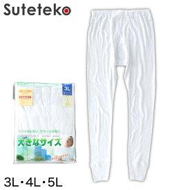 ももひき メンズ 大きいサイズ ズボン下 3L〜5L (下着 綿100 パッチ 3l 4l 5l)