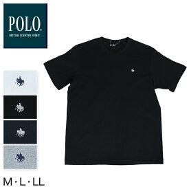 グンゼ POLO クルーネックTシャツ M〜LL (GUNZE ポロ メンズ)