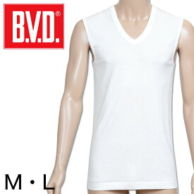 B.V.D. GOLD Vネックスリーブレスシャツ M・L (BVD ゴールド メンズ 男性 アンダーシャツ )