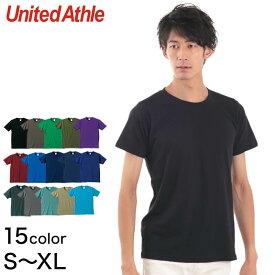 ユナイテッドアスレ メンズ 5.0オンスレギュラーフィットTシャツ S〜XL (United Athle メンズ アウター)【取寄せ】