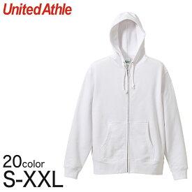 ユナイテッドアスレ レディース 10.0オンス スウェットフルジップパーカ S〜XXL (United Athle レディース アウター パーカー カラー)【取寄せ】
