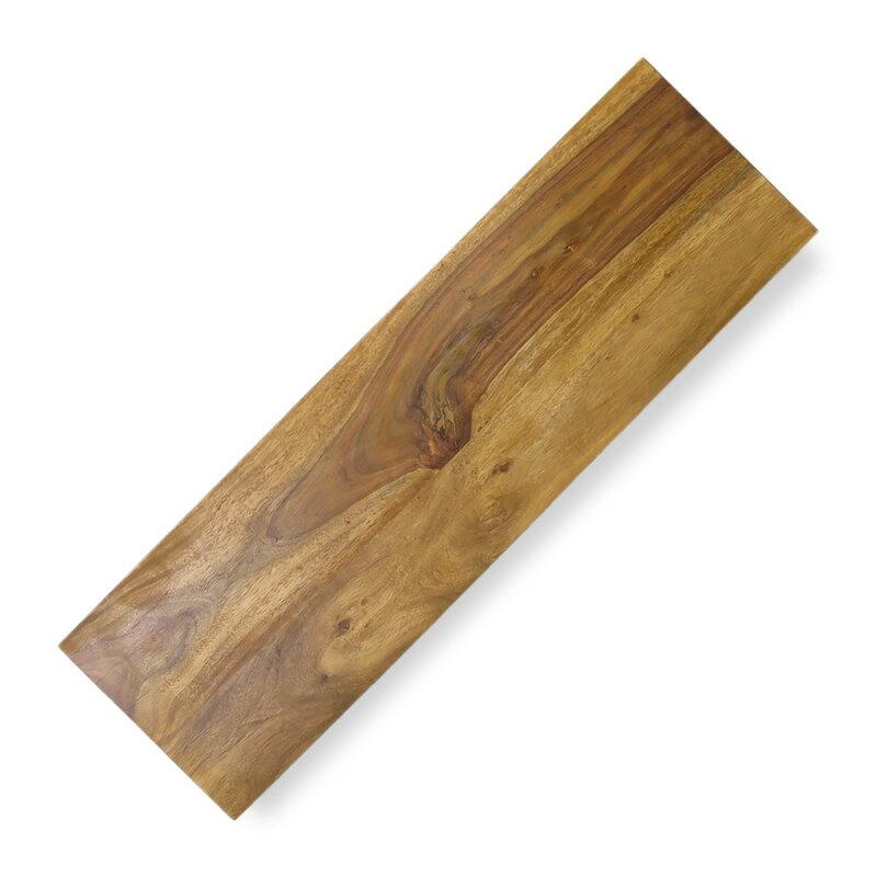 シーシャムシェルフボード300x1000 棚板 ウッドボード 30cm 100cm 壁掛け棚 木材 アンティーク ナチュラル