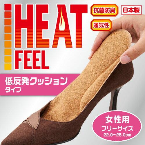 【タイムセール】【メール便送料無料 代引不可】is-fit吸湿発熱クッション 女性用