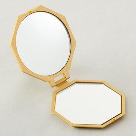 【期間限定】【メール便送料無料】10倍拡大鏡コンパクト八角ミラー