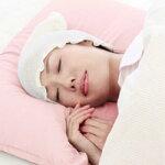 潤いシルクのおやすみ帽子