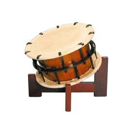 締太鼓2丁掛(ボルト締め・あわせ胴) 木製座り台座セット