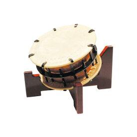締太鼓30cm(ボルト締め・あわせ胴) 木製座り台座セット