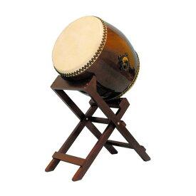 【和太鼓】長胴太鼓1.4尺(耳無し) 斜め台座付き
