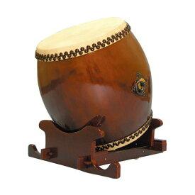 【和太鼓】長胴太鼓1.5尺(耳無し) 万能台座付き