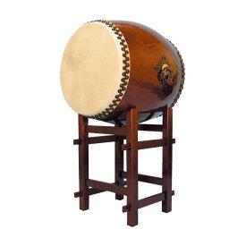 【和太鼓】長胴太鼓1.8尺(耳無し) 高台座付き