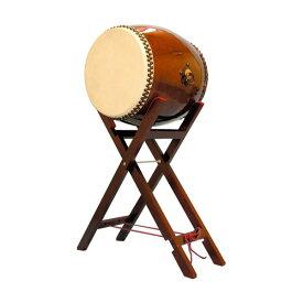 【和太鼓】長胴太鼓1.6尺(耳無し) 八丈台座付き