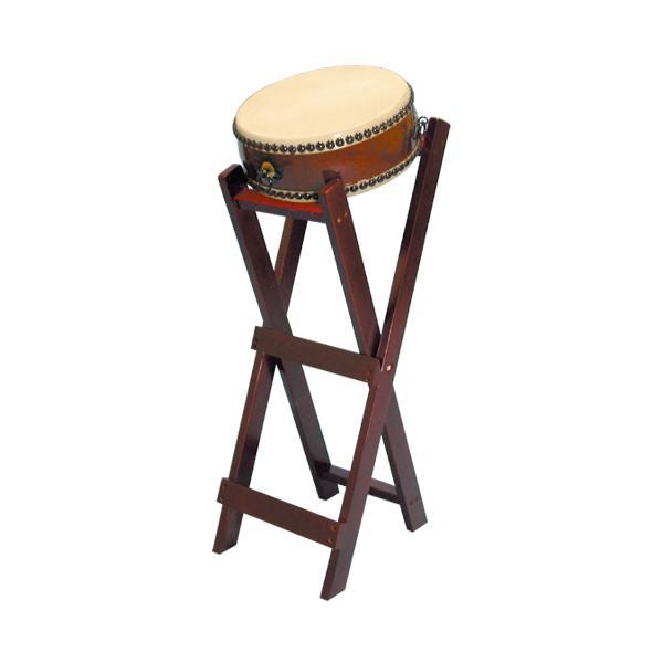 【和太鼓】平太鼓1.0尺 立台座、バチ付 送料無料