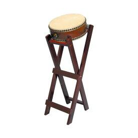 【和太鼓】平太鼓1.0尺 立台座、バチ付