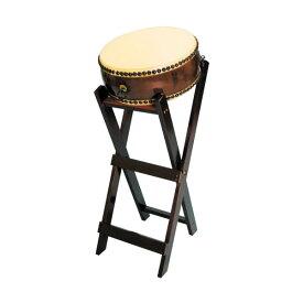 【和太鼓】平太鼓1.2尺 立台座、バチ付