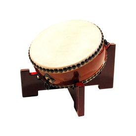 【和太鼓】平太鼓1.0尺 座り台座付き