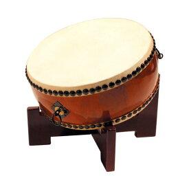 【和太鼓】平太鼓1.2尺 座り台座付き