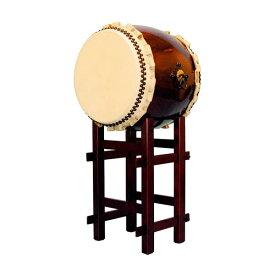 【和太鼓】長胴太鼓1.4尺(巻耳) 高台座付き