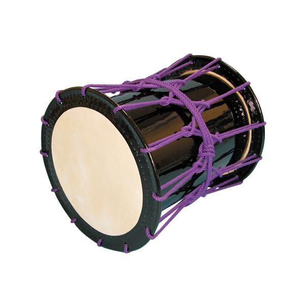 かつぎ桶胴太鼓1.6尺(紫紐) 送料無料