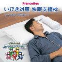 フランスベッド いびき対策 快眠支援枕 アンチスノアピロー