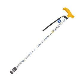 送料無料 フランスベッド光る杖『ライトケイン』折り畳みタイプ新登場!可愛らしい花柄布貼り仕様リハテックLC-11F/LC-12F