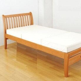 [増税前 全品P5倍]FM01 ベッド(ヘッド&フットタイプ)1113-01107セミダブルサイズ 123×223×90cm 西川リビング 北欧テイストのベッド[個別送料]