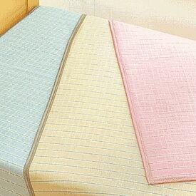 日本製 シールガーゼ綿毛布先染めツーフェイスケットSGK1402 シングル(寝具/綿毛布/タオルケット/シングル/ギフト/プレゼント/新生活) RCP