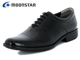 ムーンスター バランスワークス MOONSTAR BALANCE WORKS SPH4601 BLK ブラック メンズ ビジネスシューズ