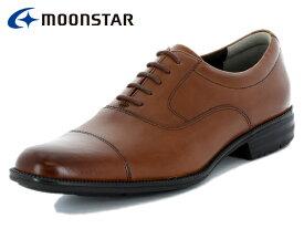 ムーンスター バランスワークス MOONSTAR BALANCE WORKS SPH4601 BR ブラウン メンズ ビジネスシューズ