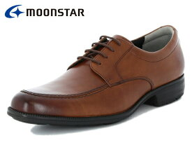 ムーンスター バランスワークス MOONSTAR BALANCE WORKS SPH4603 BR ブラウン メンズ ビジネスシューズ